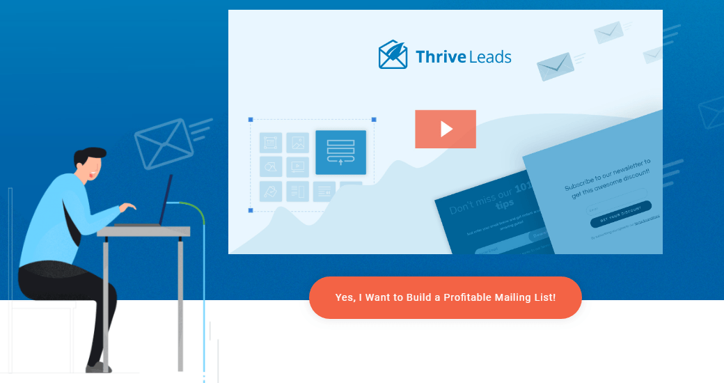 thrive leads email marketing